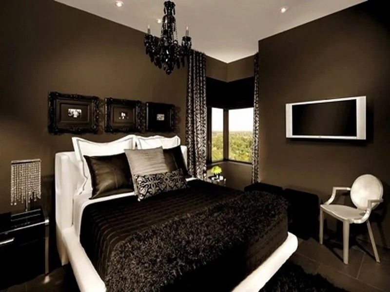 10 Chocolate Brown Bedroom Interior Design Ideas