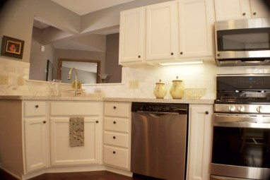 county kitchen stainless steel appliances