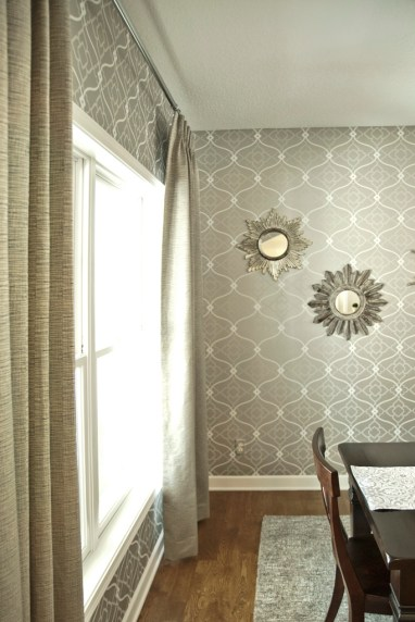 After: New Drapes