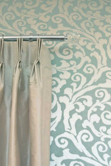 Drapes and Wall Covering