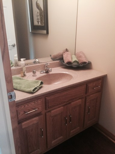 Before: Powder Room