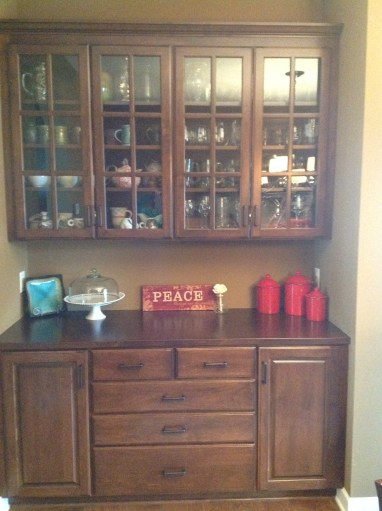 Before: Dining Hutch