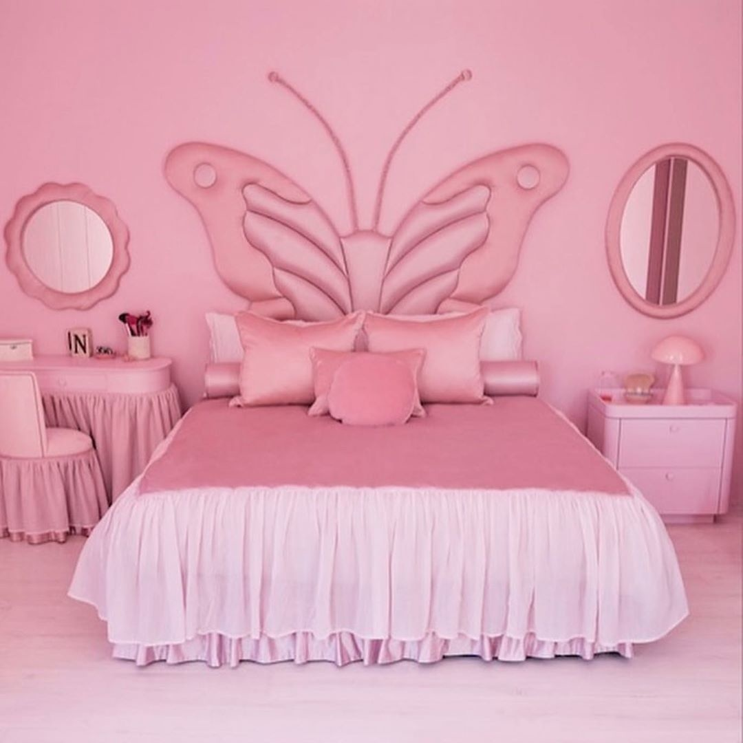 kardashian daughter bedroom