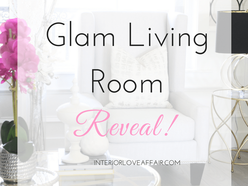 Glamorous Living – Formal Living Room Reveal