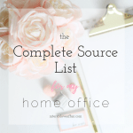 pretty home office source list