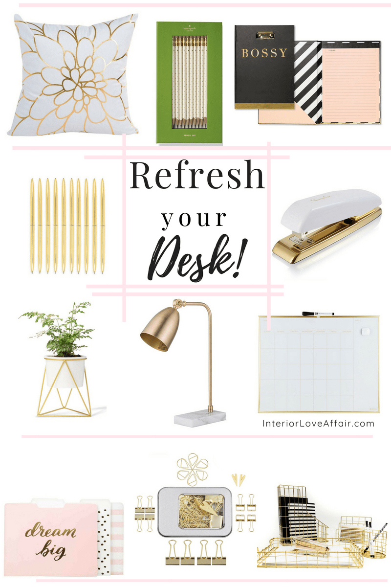 Refresh your desk
