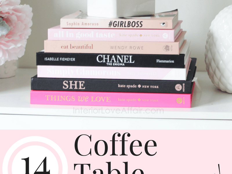 coffee table books you'll love