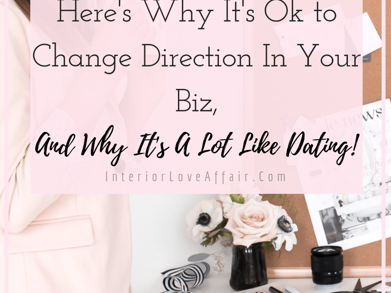 changing direction in your business