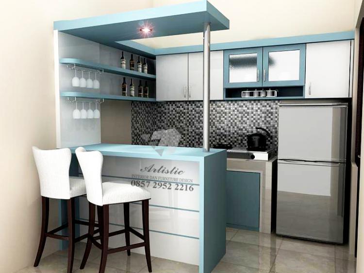 Desain Ruang Makan Menyatu Dengan Dapur
