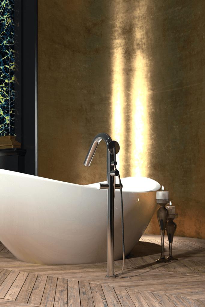 interiorqueen woonblog groningen onderhouden en reinigen van een houten visgraat vloer parketvloer badkamer