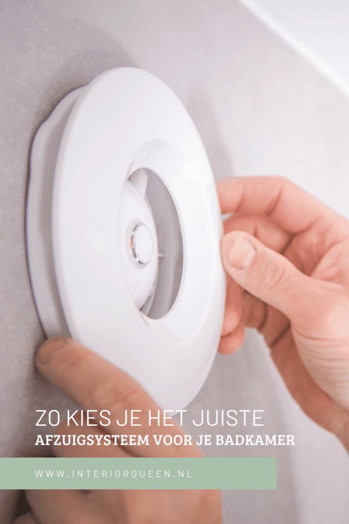 badkamerventilator