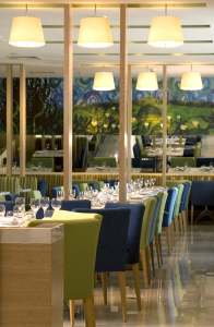 Boutique Hotel Bistro Dining Area InteriorSense Commercial Interior Design Bude Cornwall UK