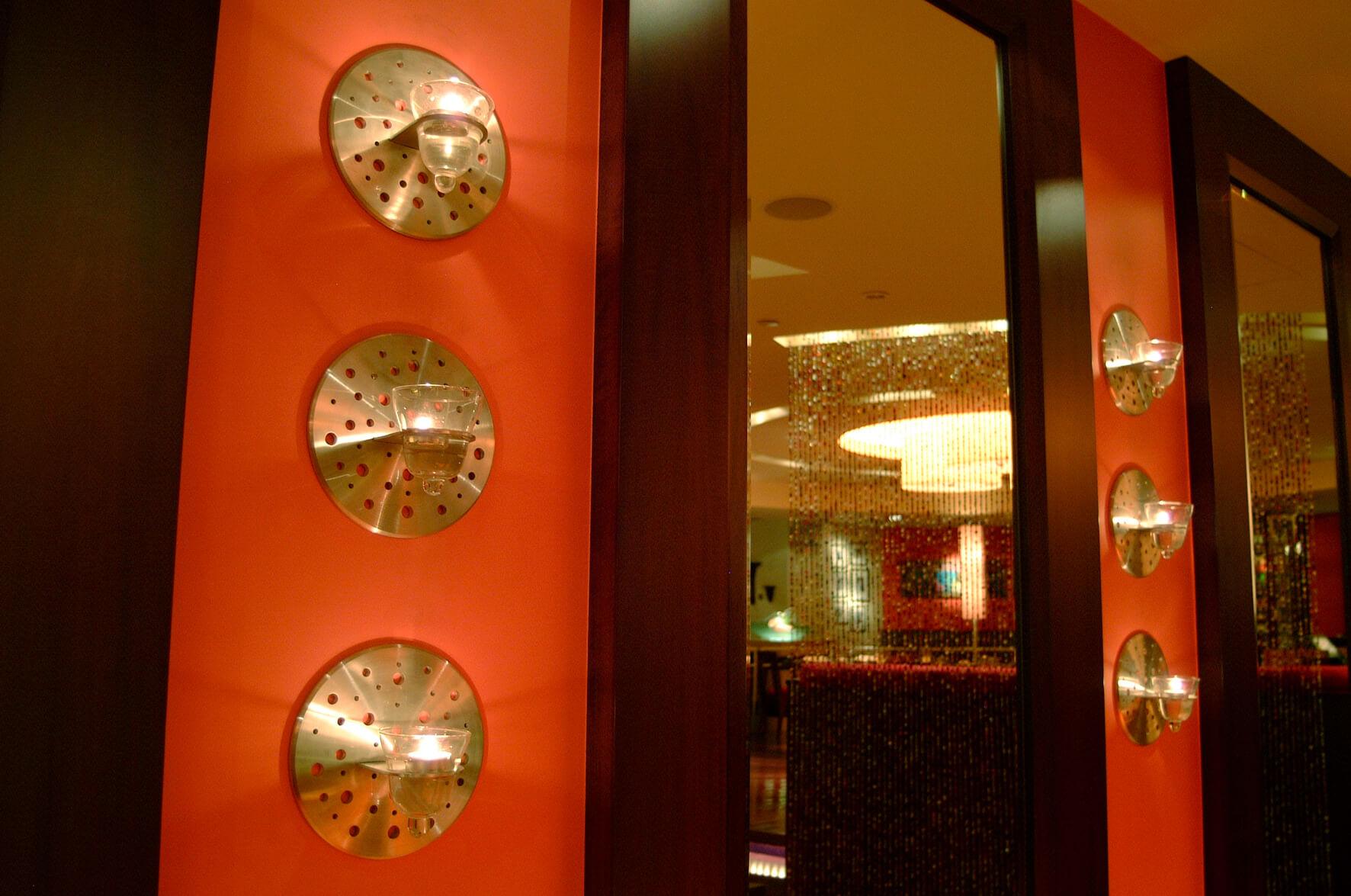 Indian Restaurant Lighting Interiors InteriorSense Commercial Design Project Consultant Cornwall