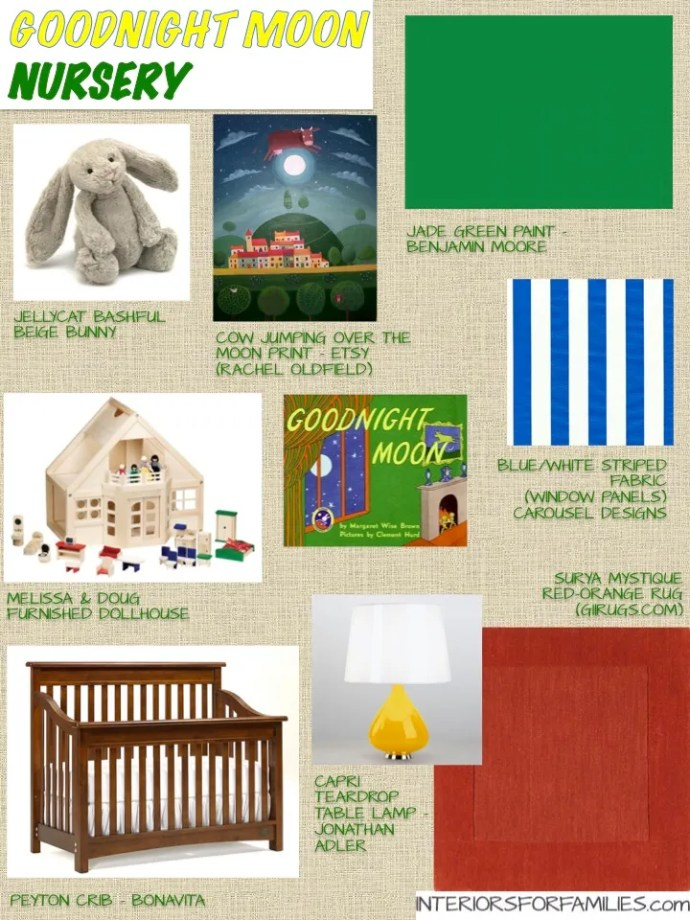 Nursery Theme Thursday - Goodnight Moon