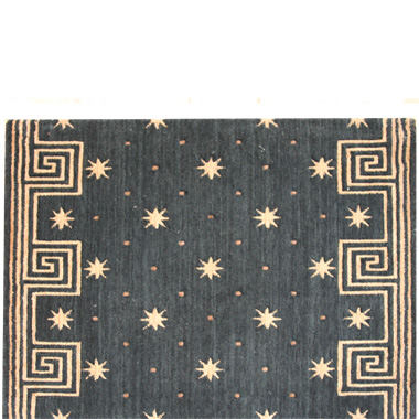 Nourison Runner w/ Greek Key Border