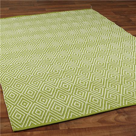Indoor/Outdoor Concentric Diamond Rug