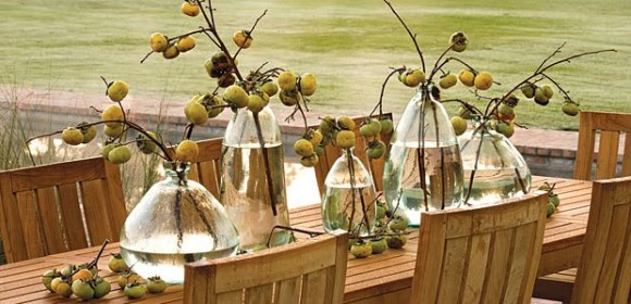 Fall Outdoor Table Centerpiece