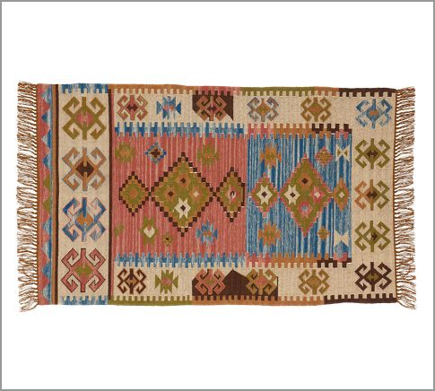 Pali Recycled Yarn Kilim