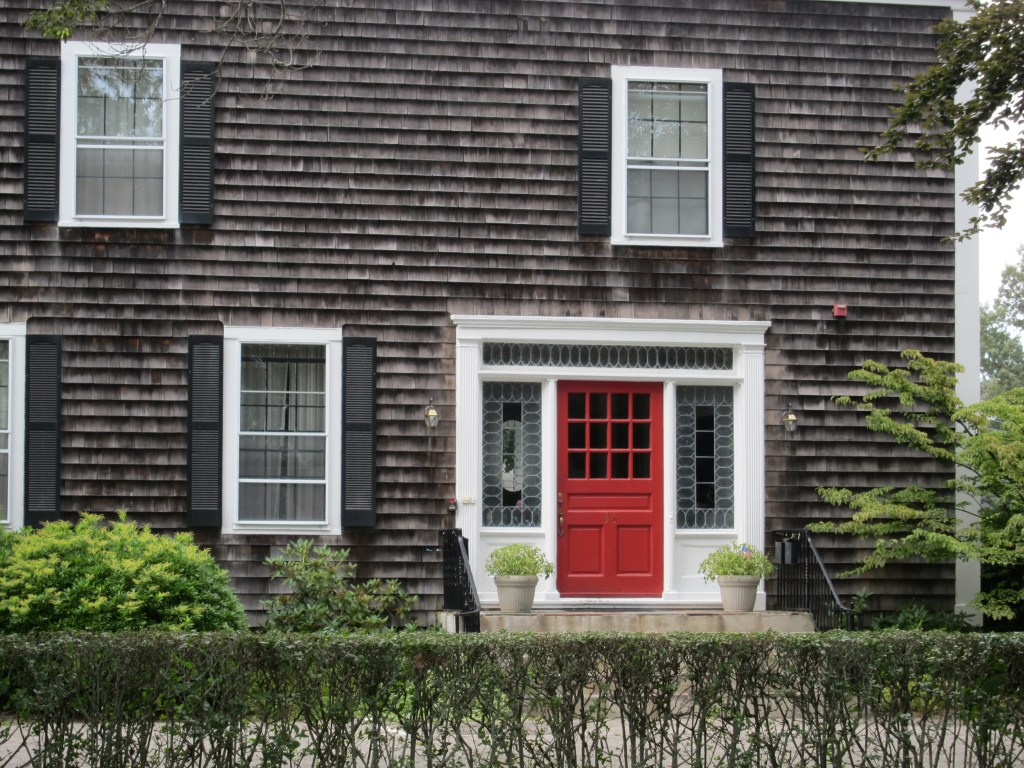 Red Door and Shingles