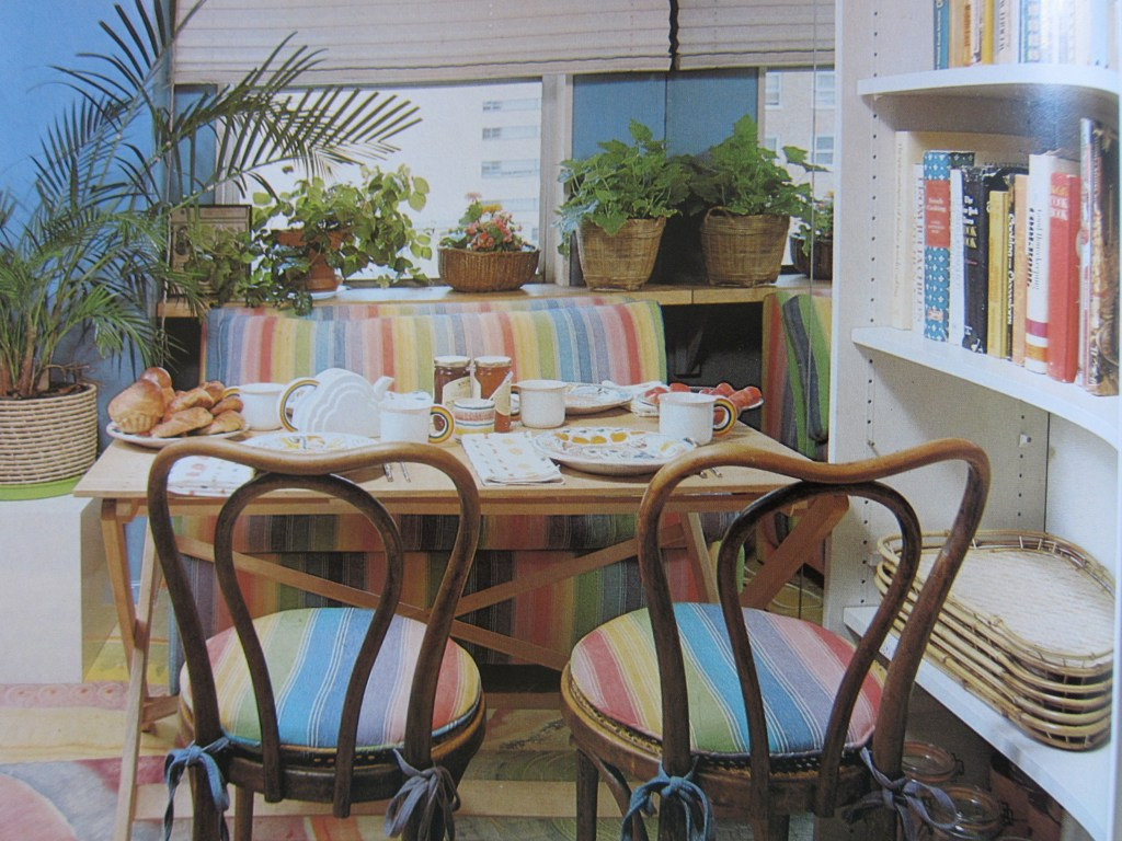 1980s Breakfast Room