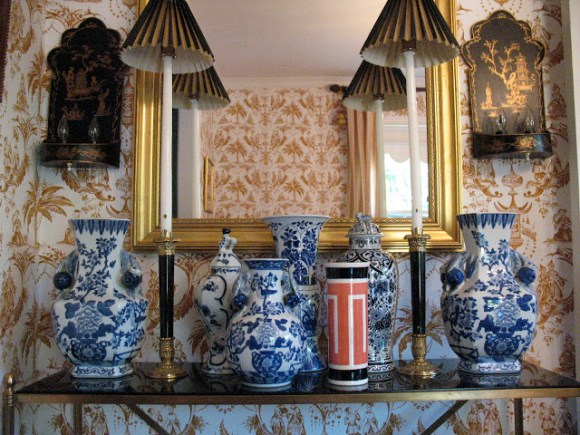 Ginger Jar Vignette - Chinoiserie Chic