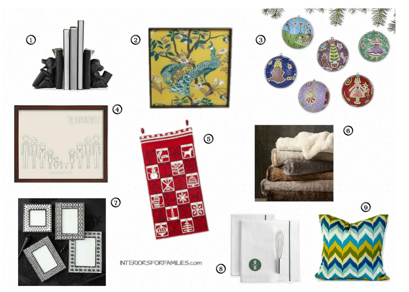 Interiors For Families Gift Guide 2012