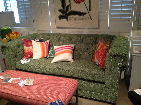 CR Laine Chesterfield style sofa - Spring 2013 #hpmkt