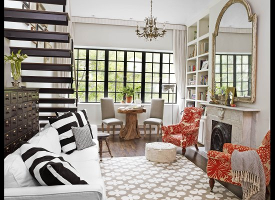 Genevieve Gorder's NY Apartment - via Huffington Post
