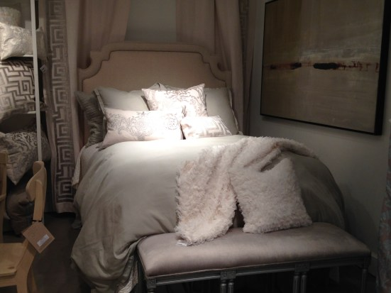 Lili Alessandra Bedding & Drapery Vignette at CODARUS | #hpmkt Spring 2014 | via Interiors For Families