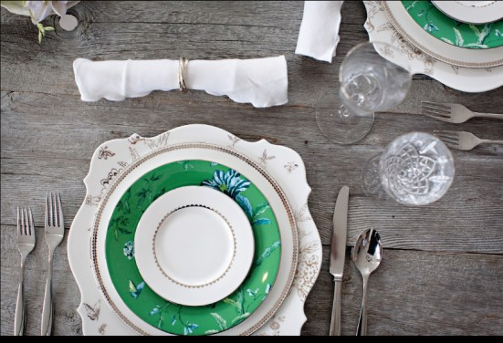 Mix-and-Match Placesetting | via Interiors For Families