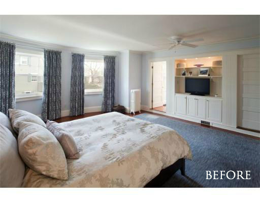"""Before"" Master Bedroom 