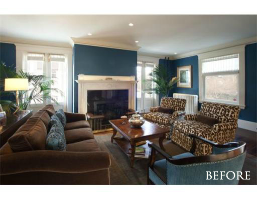 """Before"" Living Room Photo 