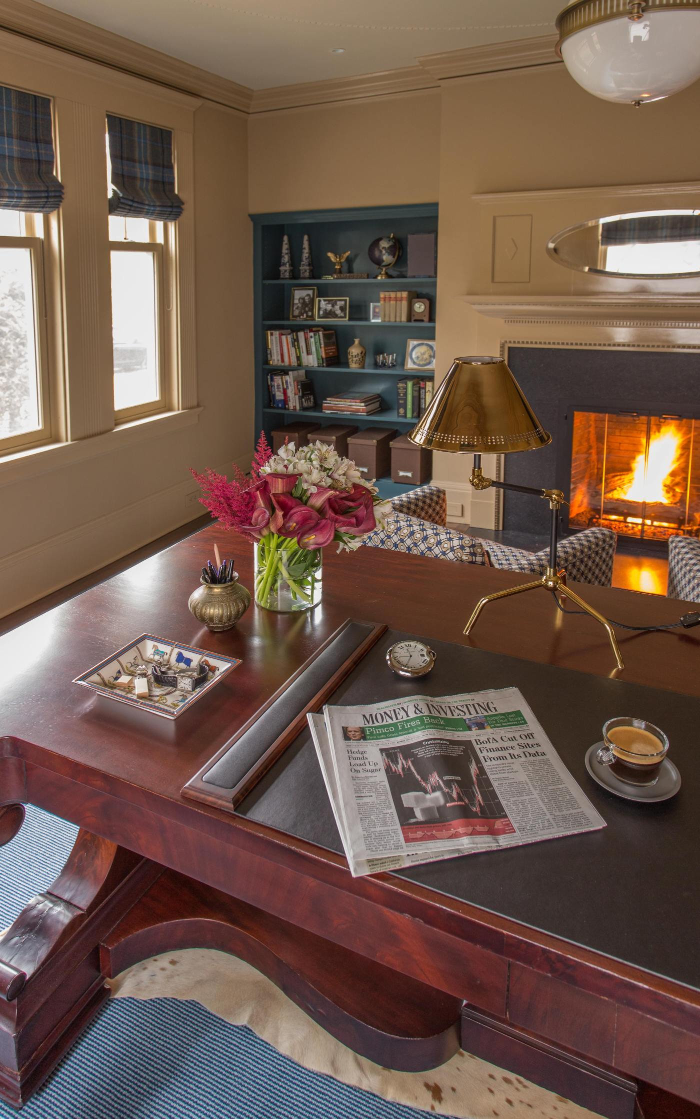 One Room Challenge: Manbrary Reveal | Kelly Rogers Interiors | Interiors for Families
