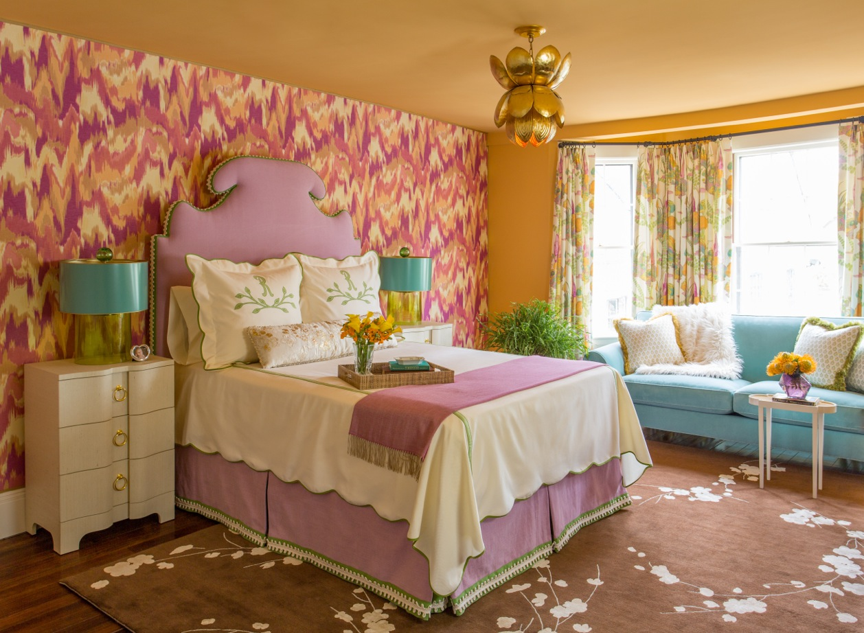 Kelly Rogers Interiors | Junior League of Boston 2016 Show House Mother-in-Law Bedroom