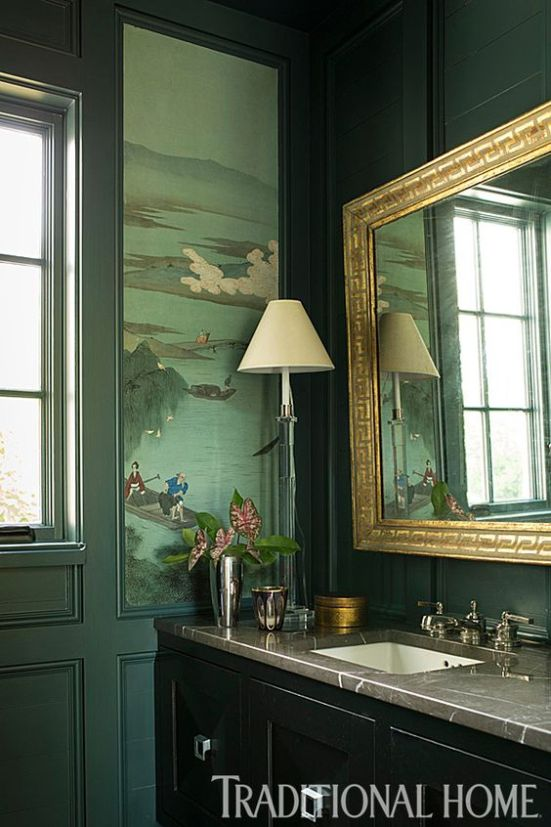 Lisa Hilderbrand in Traditional Home | Moody Hues | Interiors for Families