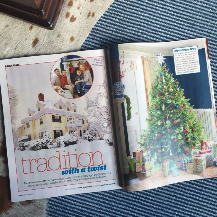 HGTV Magazine December 2016 | Kelly Rogers Interiors