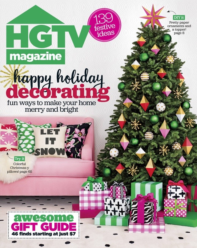 HGTV Magazine December 2016   Kelly Rogers Interiors   Interiors for Families