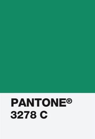 "Pantone 2013 Color of the Year ""Emerald"" 