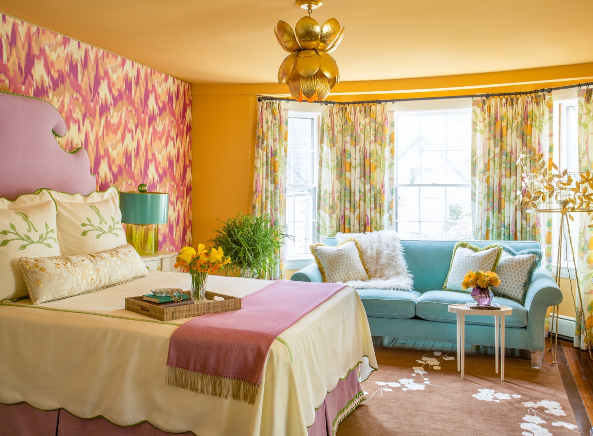 Mother-in-Law Suite at the Junior League of Boston 2016 Show House | Kelly Rogers Interiors