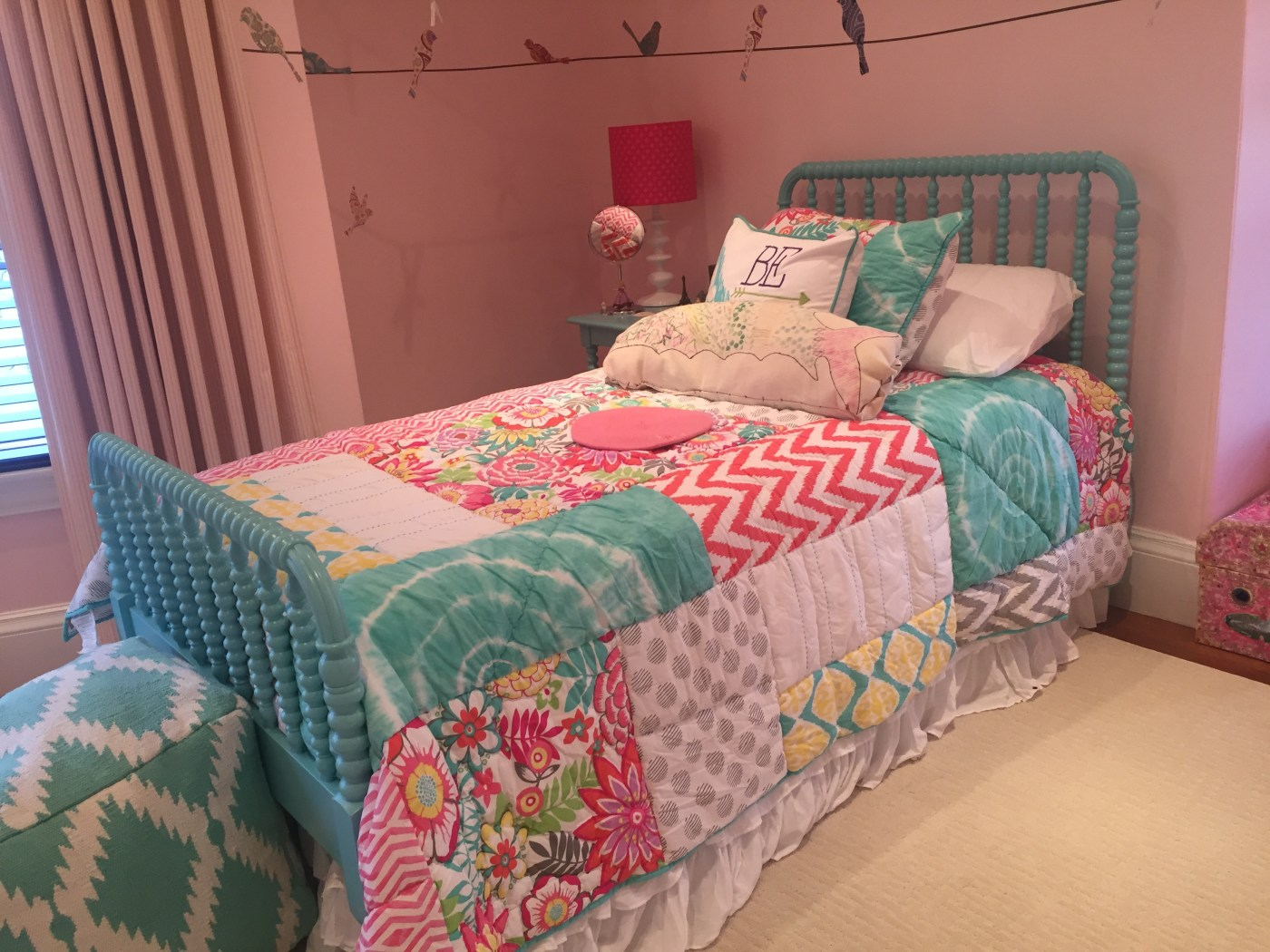 One Room Challenge Week 1: Six Weeks, One Bedroom, Two Girls! | Interiors for Families | Kelly Rogers Interiors
