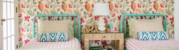 One Room Challenge Week 6: Project Sister Act REVEAL! | Kelly Rogers Interiors | Interiors for Families