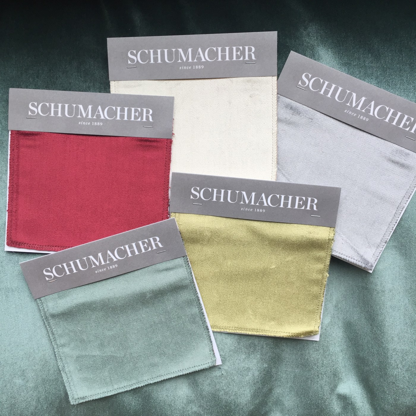 Friday Family-Friendly Find: Schumacher High Performance Silk Velvet | Interiors for Families