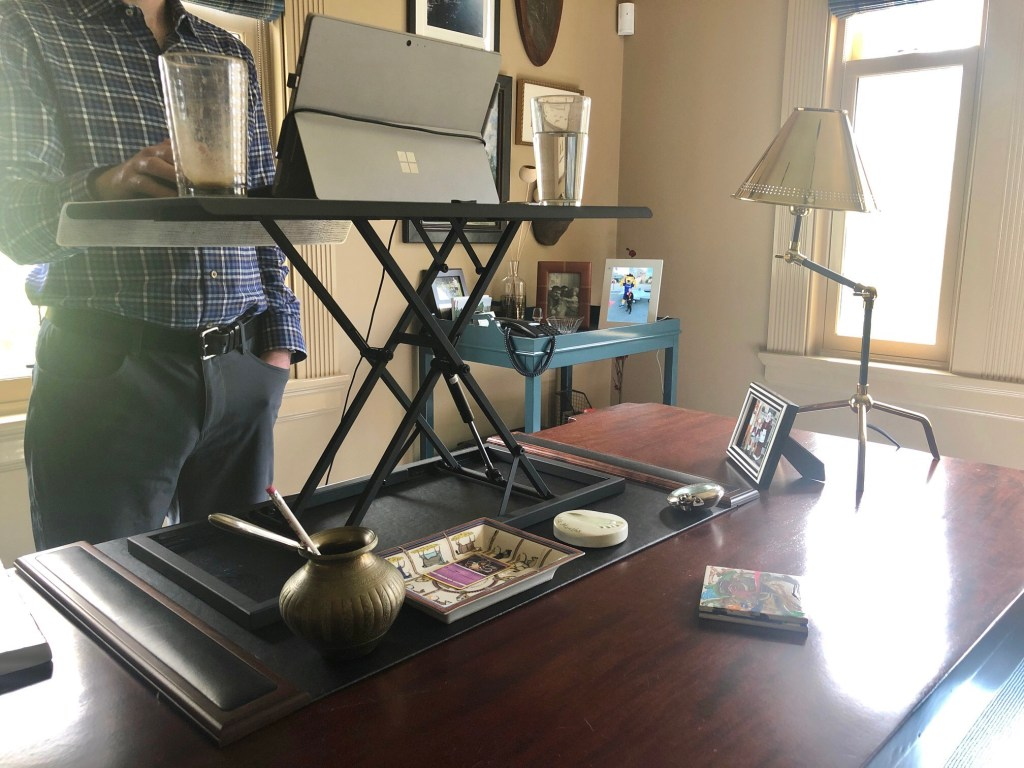 Adjustable Height Standing Desk Round-up and Buying Guide | Interiors for Families | Blog of Kelly Rogers Interiors