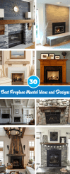 30 Best Fireplace Mantel Ideas And Designs To Brighten Up Your Home Interiorsherpa