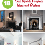 18 Awesome Marble Fireplace Ideas And Designs For Your Home Interiorsherpa