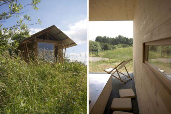 Ekologiško mažo namelio atsiradimas Prancūzijoje