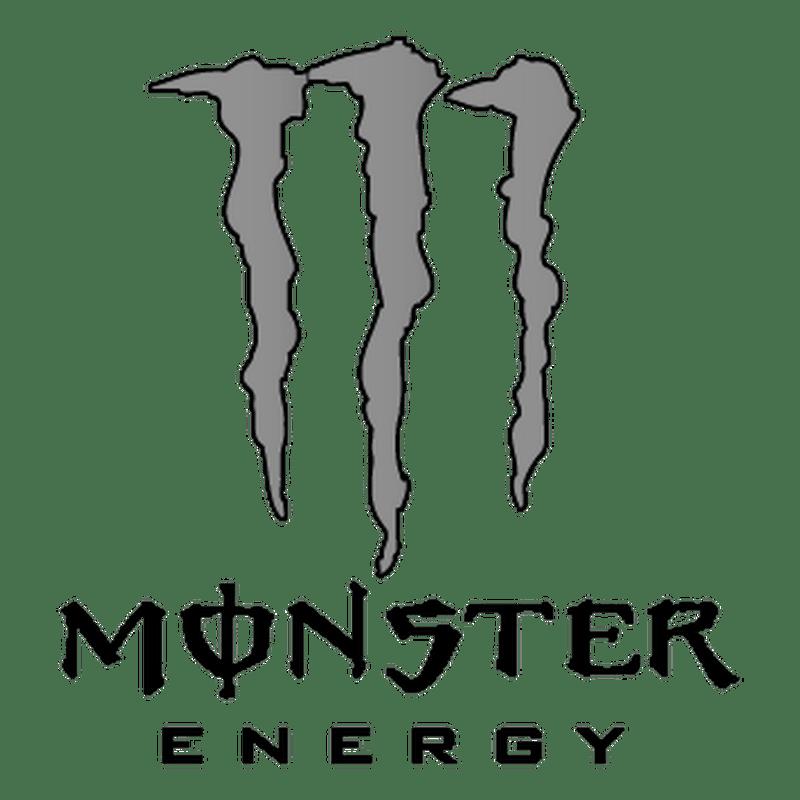 Monster Energy BW Logo2