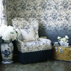 Wallpaper Dalston Rose from House of Hackney
