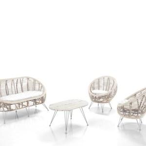 HUCK WHITE - mobilier exterior, mobila gradina