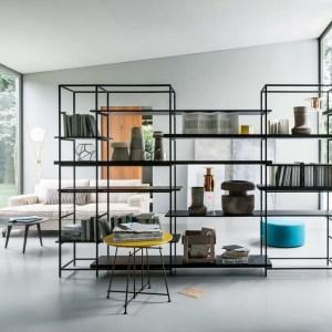 PLAIN - biblioteca moderna, mobila lux